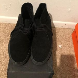 Black Banana Republic Suede Chukka